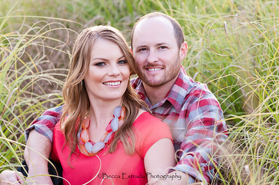 Becca Estrada Photography - Matt and Gretchen Engagement at Peter's Canyon-25