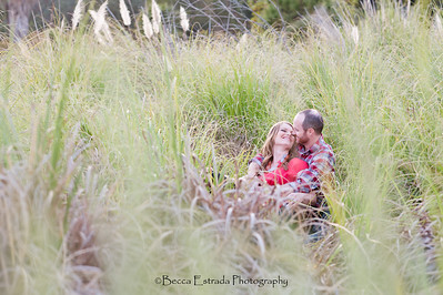 Becca Estrada Photography - Matt and Gretchen Engagement at Peter's Canyon-41