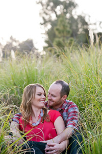 Becca Estrada Photography - Matt and Gretchen Engagement at Peter's Canyon-29