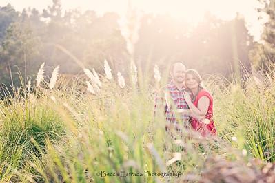 Becca Estrada Photography - Matt and Gretchen Engagement at Peter's Canyon-4