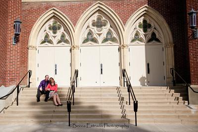 Becca Estrada Photography - Matt and Gretchen Engagement in Old Towne Orange-31