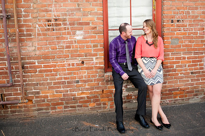 Becca Estrada Photography - Matt and Gretchen Engagement in Old Towne Orange-2