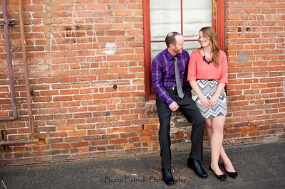 Becca Estrada Photography - Matt and Gretchen Engagement in Old Towne Orange-2