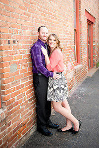 Becca Estrada Photography - Matt and Gretchen Engagement in Old Towne Orange-9