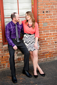 Becca Estrada Photography - Matt and Gretchen Engagement in Old Towne Orange-3
