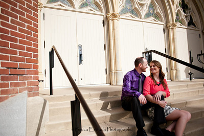 Becca Estrada Photography - Matt and Gretchen Engagement in Old Towne Orange-38