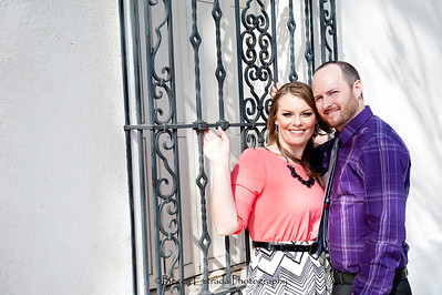 Becca Estrada Photography - Matt and Gretchen Engagement in Old Towne Orange-17