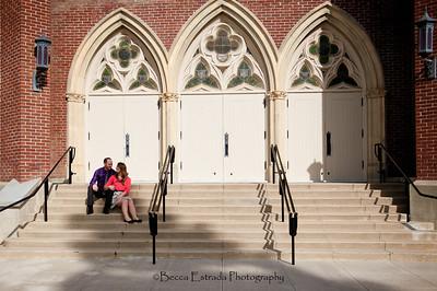 Becca Estrada Photography - Matt and Gretchen Engagement in Old Towne Orange-28
