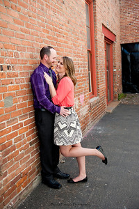 Becca Estrada Photography - Matt and Gretchen Engagement in Old Towne Orange-11