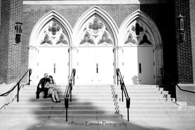 Becca Estrada Photography - Matt and Gretchen Engagement in Old Towne Orange-33