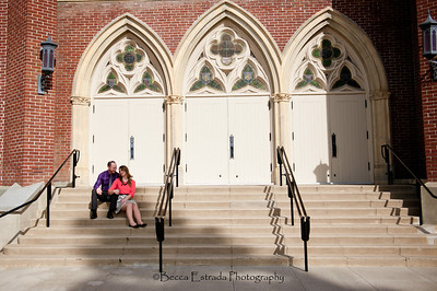 Becca Estrada Photography - Matt and Gretchen Engagement in Old Towne Orange-30