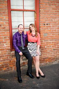 Becca Estrada Photography - Matt and Gretchen Engagement in Old Towne Orange-5