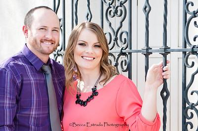 Becca Estrada Photography - Matt and Gretchen Engagement in Old Towne Orange-22