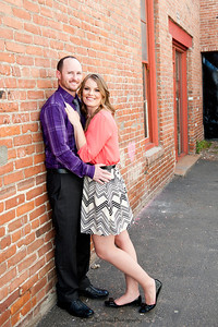 Becca Estrada Photography - Matt and Gretchen Engagement in Old Towne Orange-10