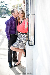 Becca Estrada Photography - Matt and Gretchen Engagement in Old Towne Orange-26