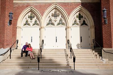 Becca Estrada Photography - Matt and Gretchen Engagement in Old Towne Orange-32