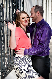 Becca Estrada Photography - Matt and Gretchen Engagement in Old Towne Orange-19