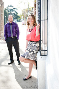 Becca Estrada Photography - Matt and Gretchen Engagement in Old Towne Orange-25