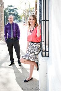 Becca Estrada Photography - Matt and Gretchen Engagement in Old Towne Orange-25
