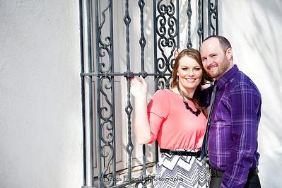 Becca Estrada Photography - Matt and Gretchen Engagement in Old Towne Orange-18