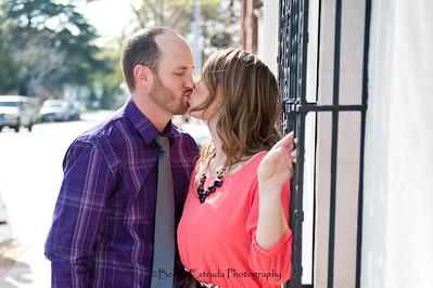 Becca Estrada Photography - Matt and Gretchen Engagement in Old Towne Orange-27