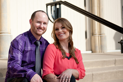 Becca Estrada Photography - Matt and Gretchen Engagement in Old Towne Orange-42