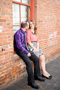 Becca Estrada Photography - Matt and Gretchen Engagement in Old Towne Orange-1