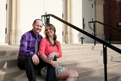 Becca Estrada Photography - Matt and Gretchen Engagement in Old Towne Orange-41