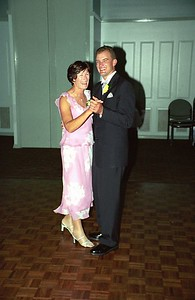 Matt with mum (Clare Britnell)