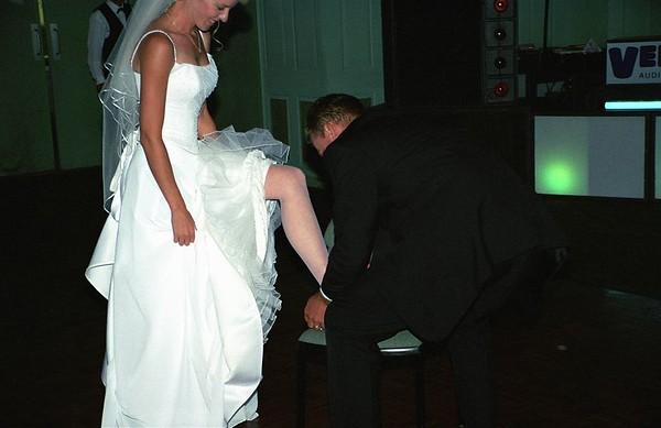 Removing the garter