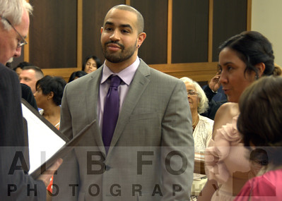 May 23, 2014 Melonie Alamer  & Evan Myers-Ceremony, Bridgewater Municipal Court, 100 Common Way, Bridgewater, NJ 08807