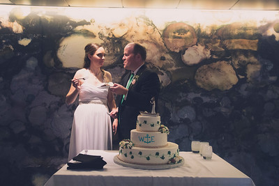 Betsy and Wes: Cake Cutting