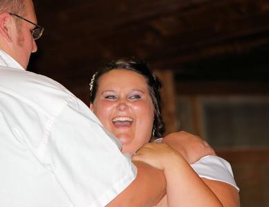 The beautiful happy bride