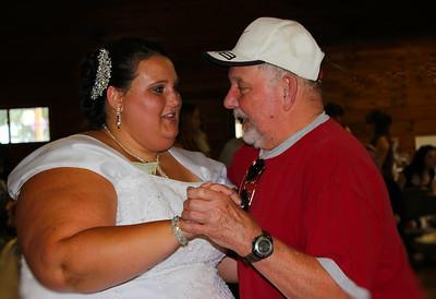 Tiffany & her Papa Doug dancing