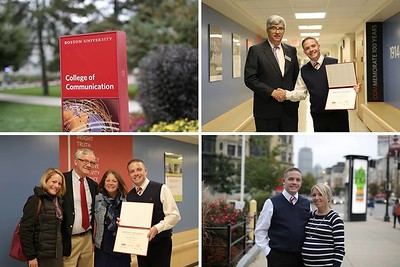 Graduation from Boston University's College of Communications Photography Program