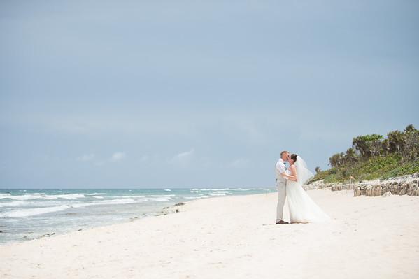 Megan & Drew - Bahia Principe Tulum Wedding
