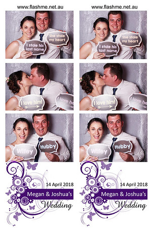 Megan & Joshua's Wedding - 14 April 2018