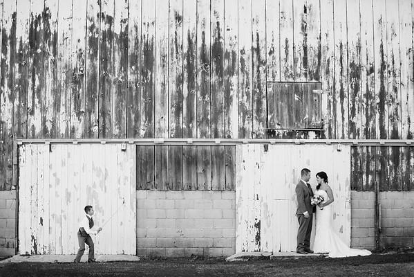 Megan & Ryan at The Barn at Harvest Moon Pond