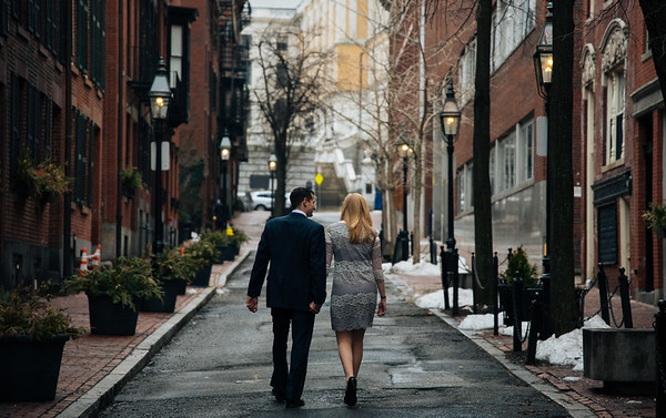 Meghan and Joe Engagement in Boston