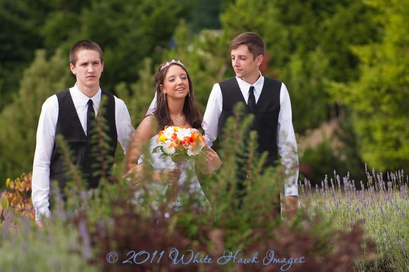 Melanie & Eloy's Wedding, at Druid's Glen, Kent WA