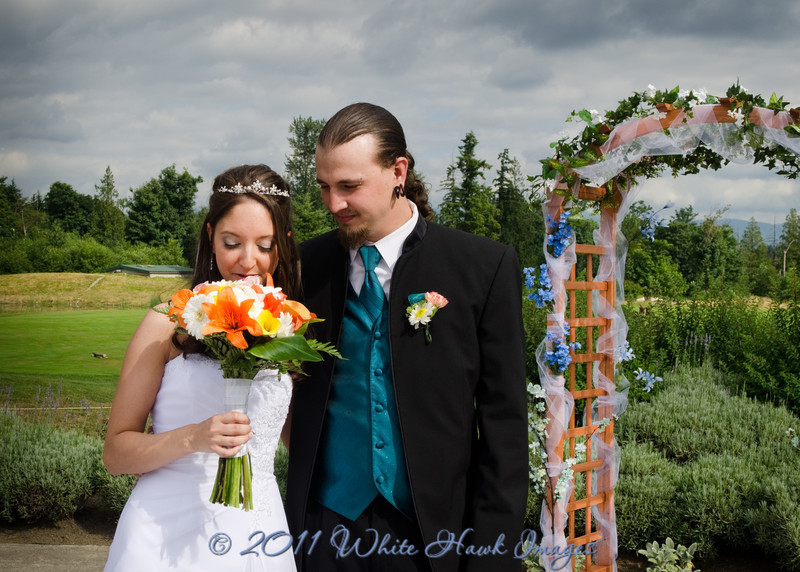 Melanie & Eloy's Wedding, at Druid's Glen, Kent WA