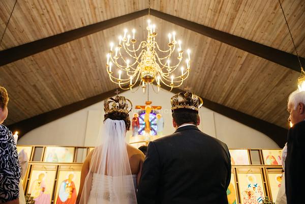 melanie + adam | wedding | st. paul macedonio bulgarian eastern orthodox church st marys cultural center, livonia