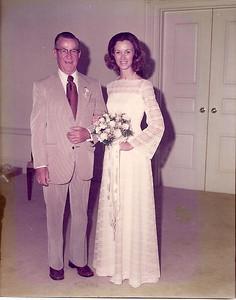Melanie & Daddy - 8/30/75