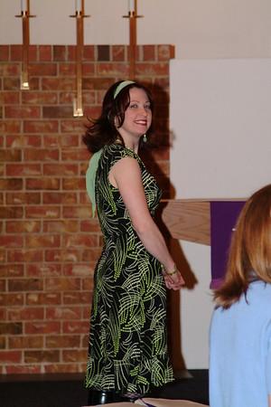 Melanie McCaw Wedding Rehearsal 2005 March 15