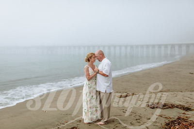 Melinda+Ben ~ San Simeon Point Elopement