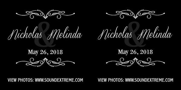 Melinda & Nicholas 5/26/18