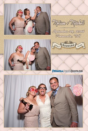 Melissa + Mitchell's Wedding 9-29-2016