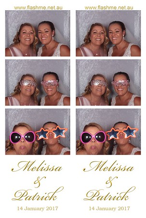 Melissa & Patrick's Wedding - 14 January 2017
