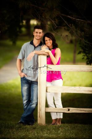Melissa and Jason Engaged