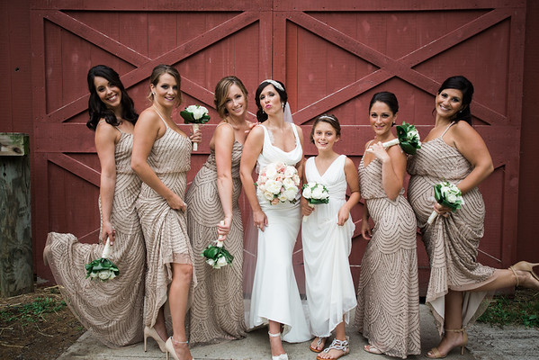 6. Bridal party
